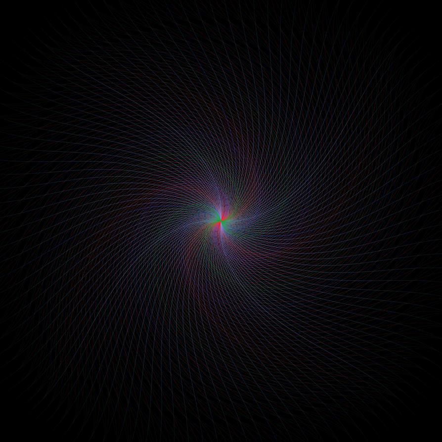 spiral line by maxwell-tak