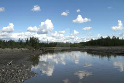 River 46 by AlaskanStock