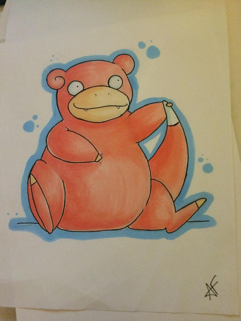 Slowpoke by Asha-Ketchum