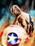 Oldman Captain America