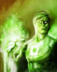 Green lantern Paint