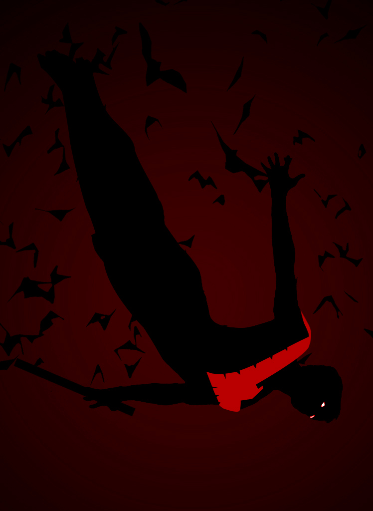 DSC Nightwing Red By LeonardoEnrique