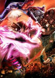 BA Gambit and the X-men by LeonardoEnrique