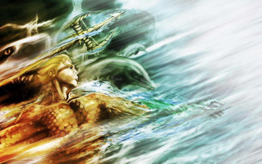 Aquaman by LeonardoEnrique