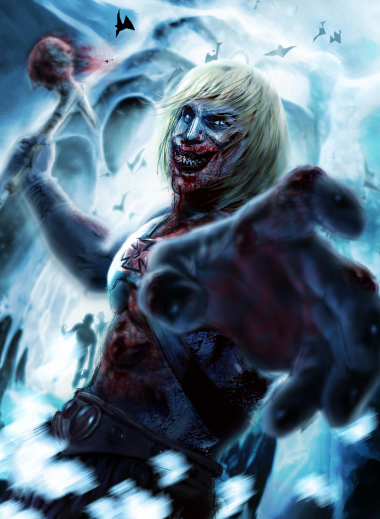BA He-man Zombie by LeonardoEnrique
