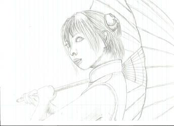 Kagura (Gintama) Cosplayer