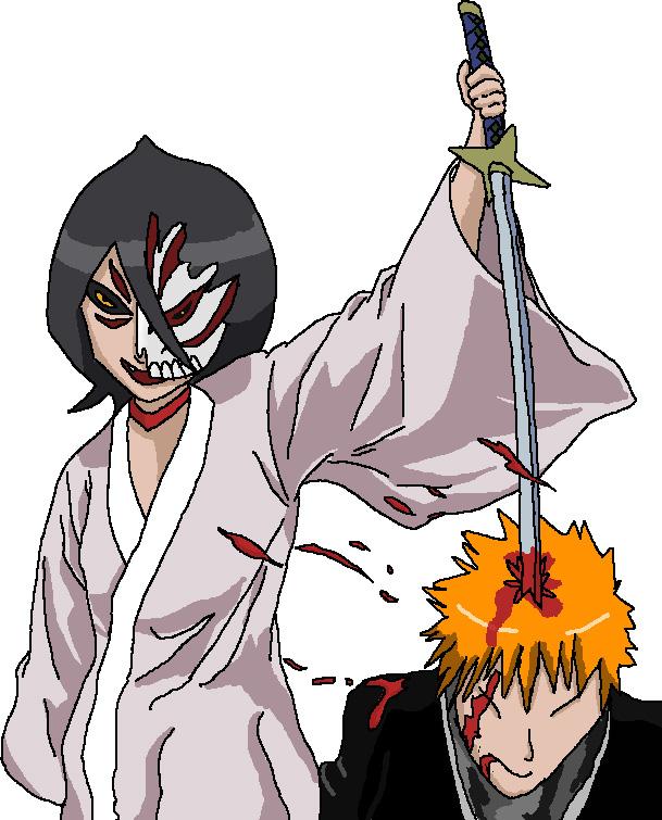 Hollow Rukia Kills Ichigo By Rexx9224 On DeviantArt