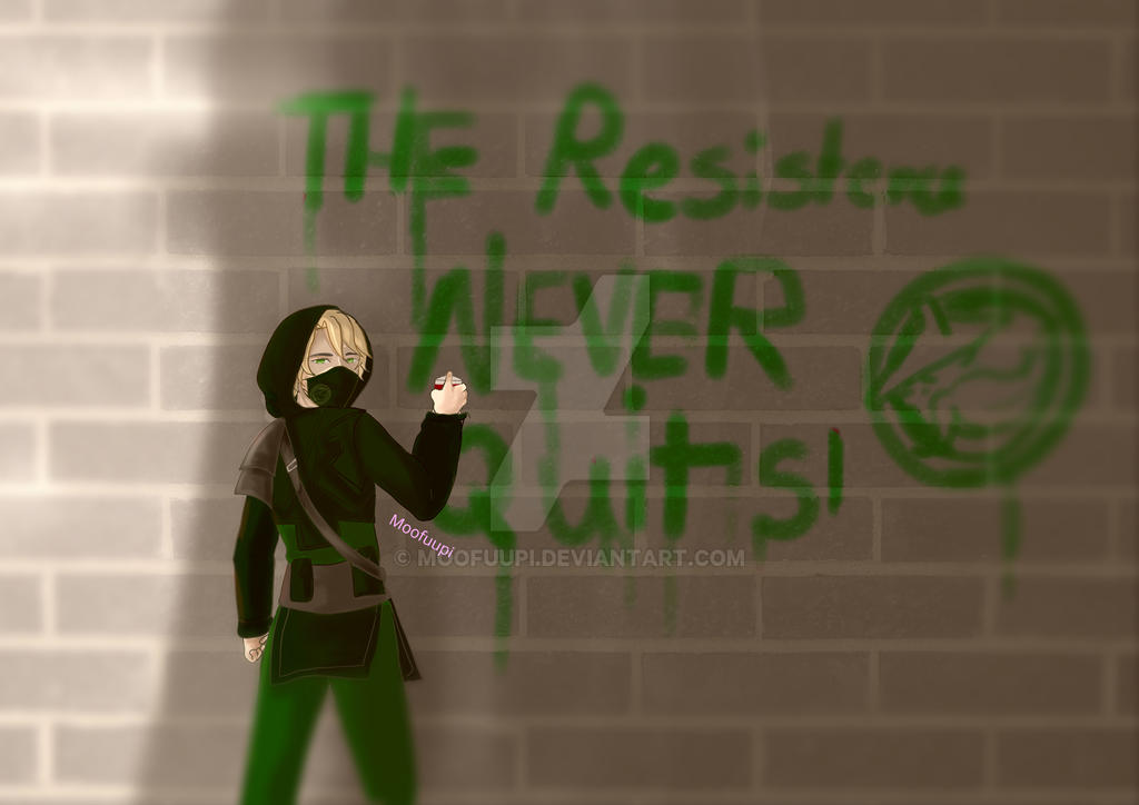 The Resistance Never Quits! by Moofuupi