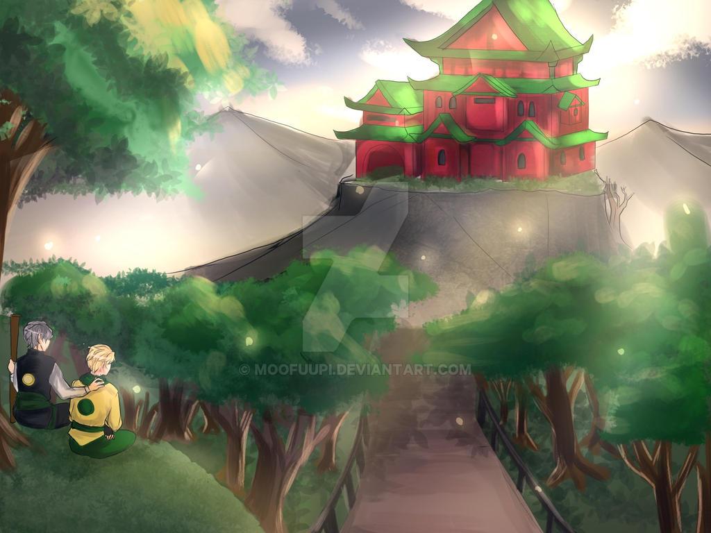 Ninjago Father and Son by Moofuupi