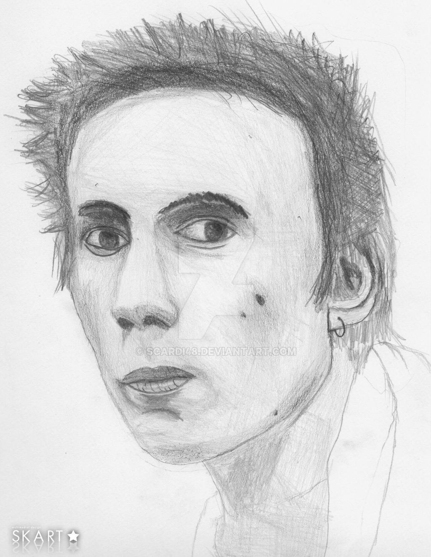 Johnny Rotten by scardi48