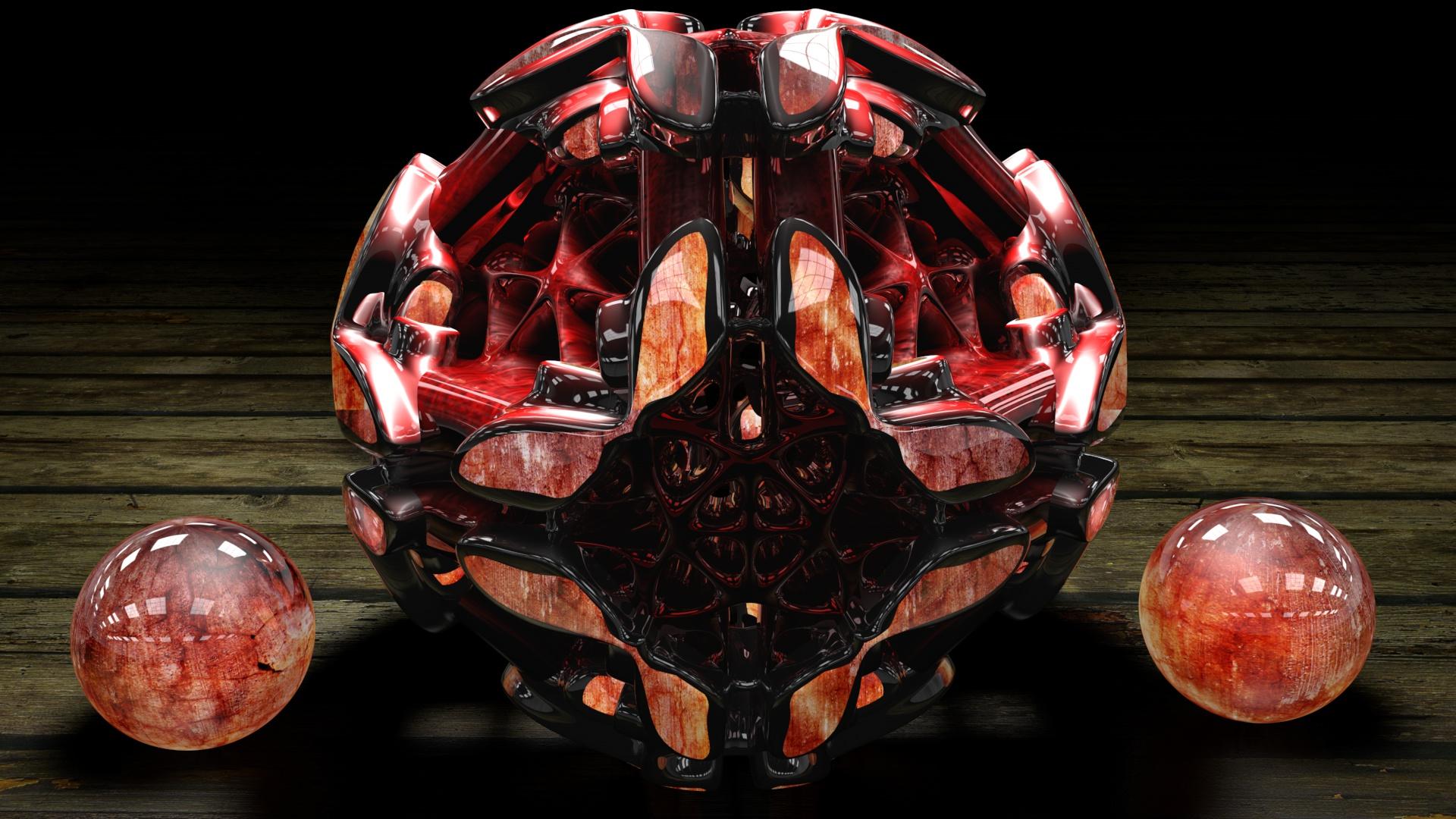 Apocalypse Sphere c4d by KRYPT06