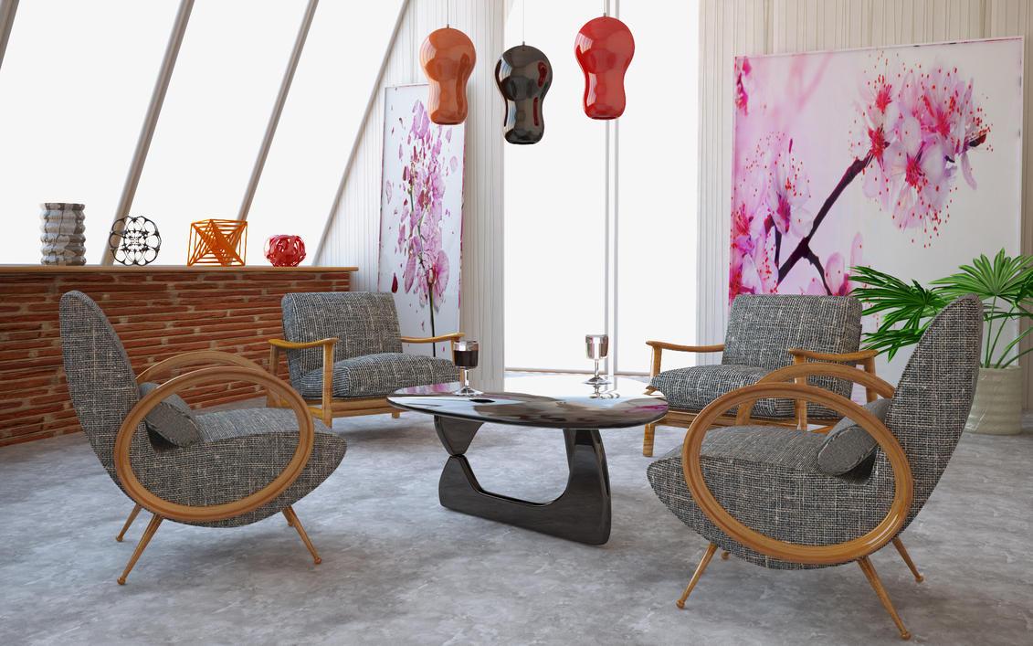 salon autour d 39 un verre by krypt06 on deviantart. Black Bedroom Furniture Sets. Home Design Ideas