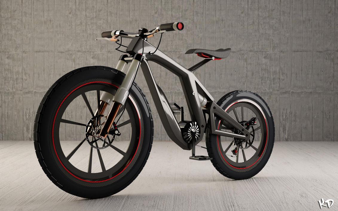 Concept Bike Final Render by KRYPT06