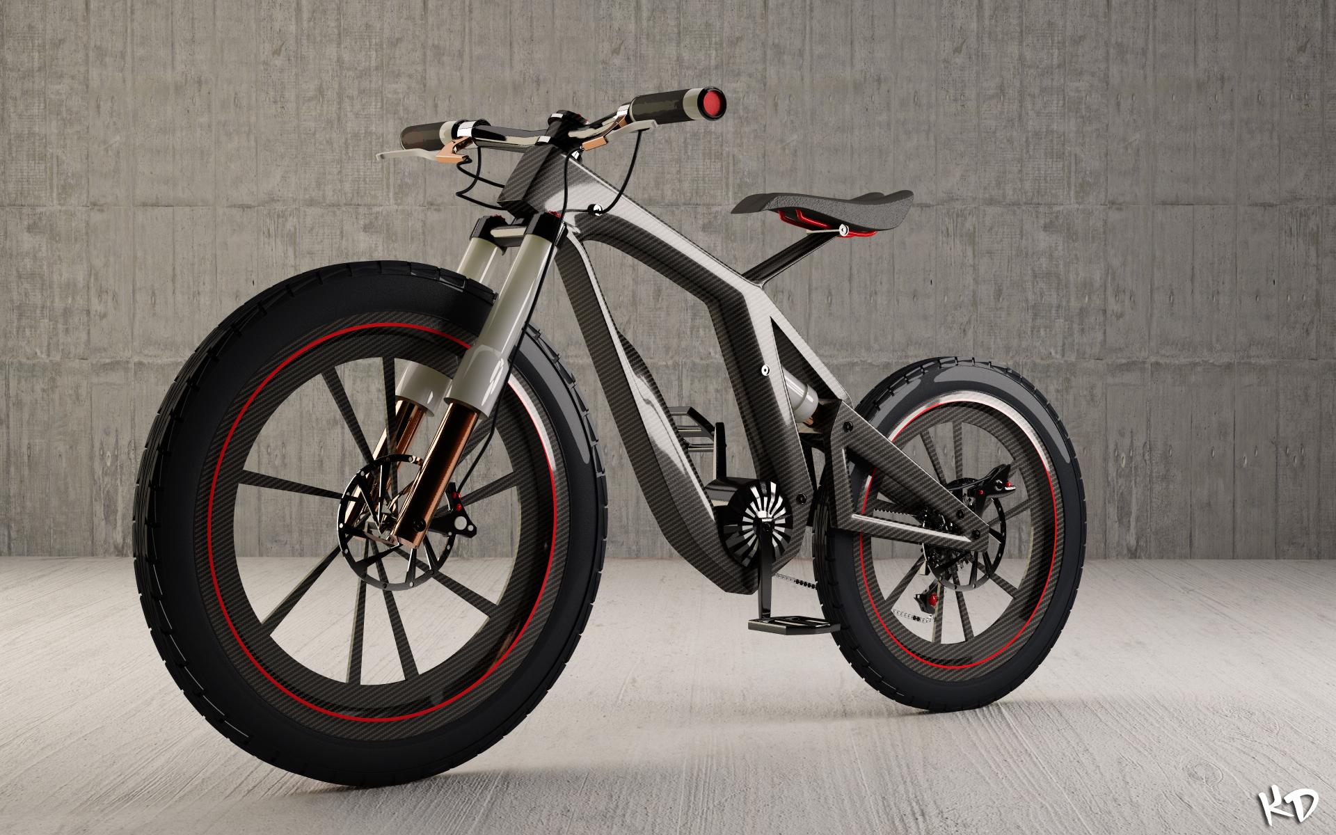 Concept Bike Final Render By Krypt06 On Deviantart