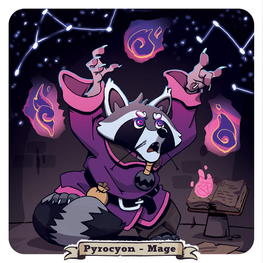 Pyrocyon - Mage by Mc-Johnstable
