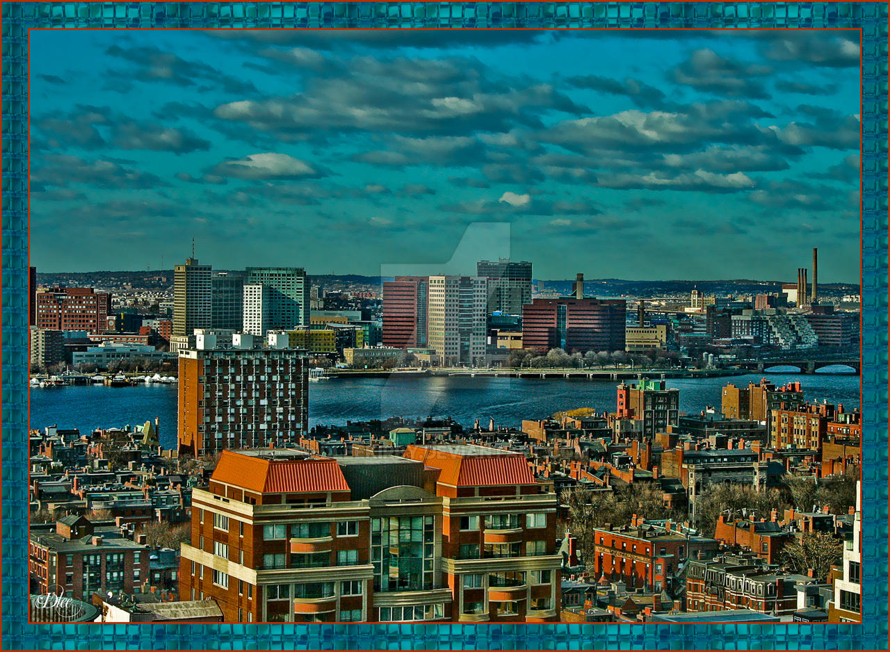 View from Boston's  Radison