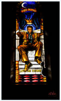 The King Stained Glass Window