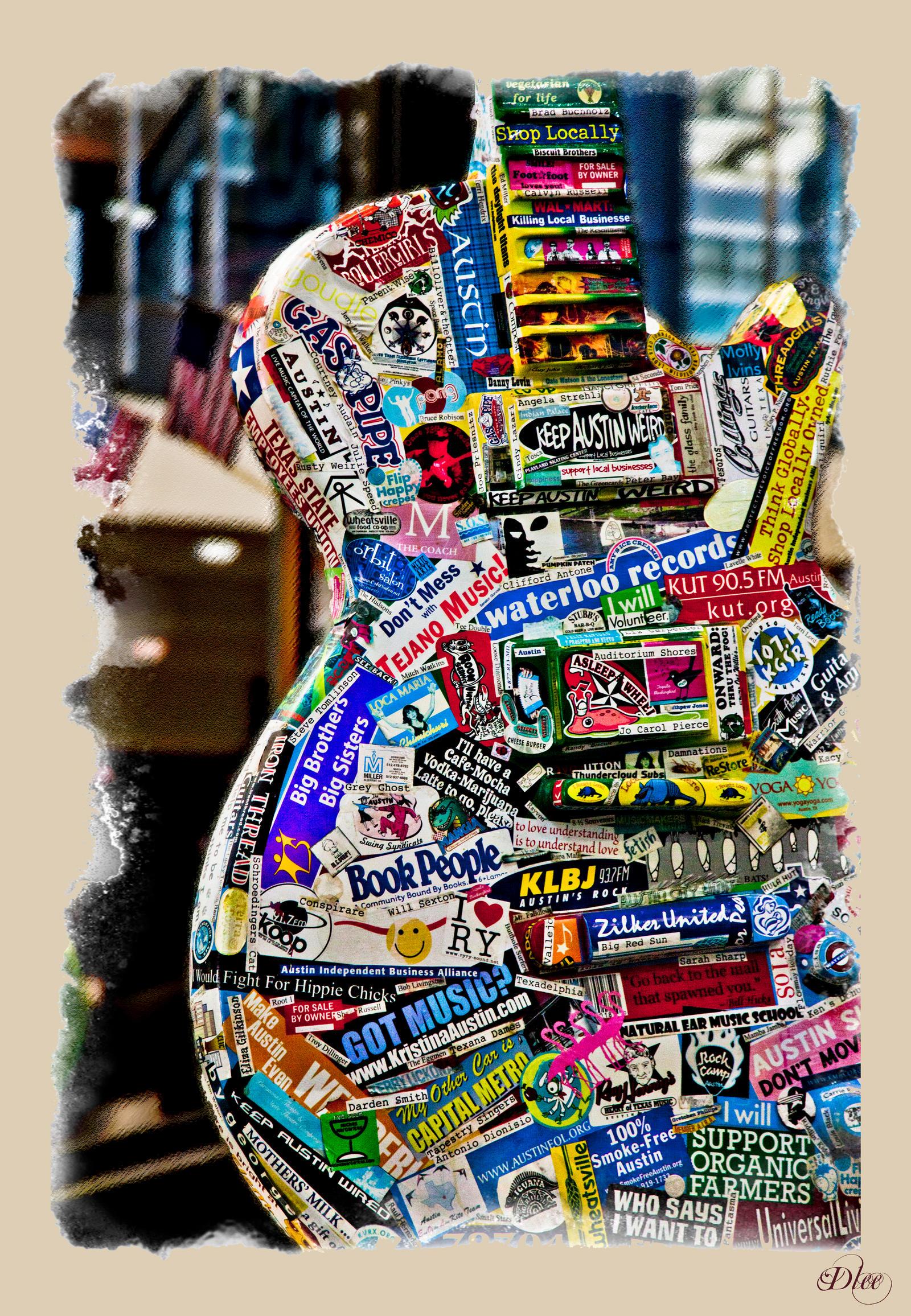 Advertizing Guitar