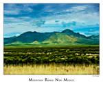 Mountain Range New Mexico