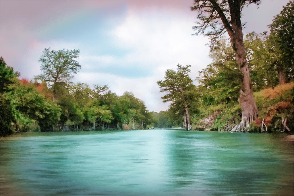 Guadalupe  River San Antonio by DleeKirby