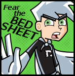 Fear the BED SHEET by dragonwind15