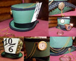 Steampunk Mad Hatter Hat