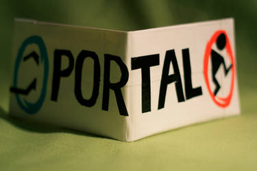 Now You're Thinking With Portals Wallet