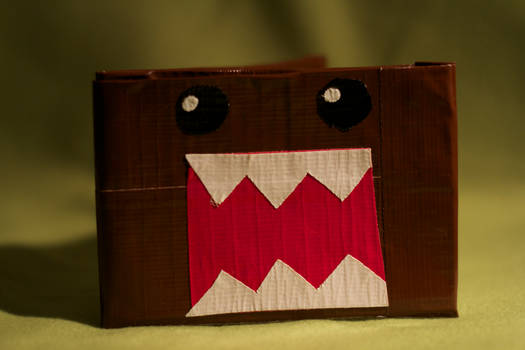 Domo-kun Duct Tape Wallet