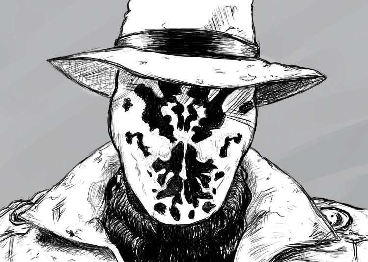 Rorschach by InsecureCarabou