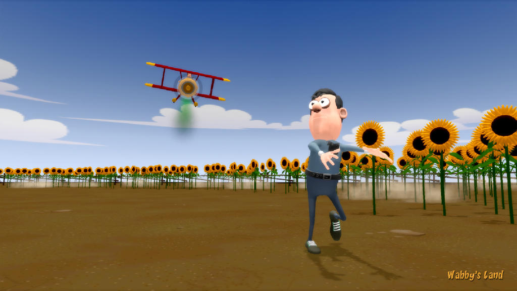 North by Northwest - Toon style by WabbysLand