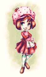 Strawberry Shortcake by ChibiTaryn