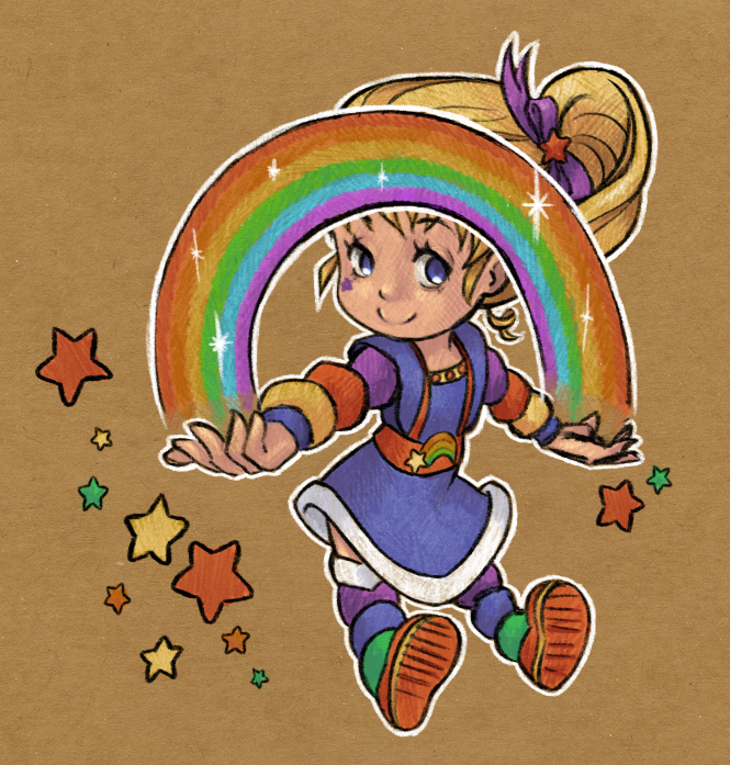 Rainbow Brite (again) by ChibiTaryn