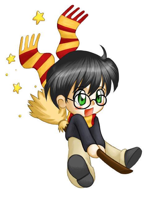 Chibi Harry Potter by ChibiTaryn