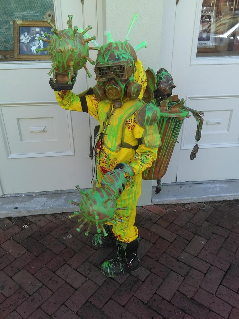 Toxic Mutant Zombie Hunter  by joker5063