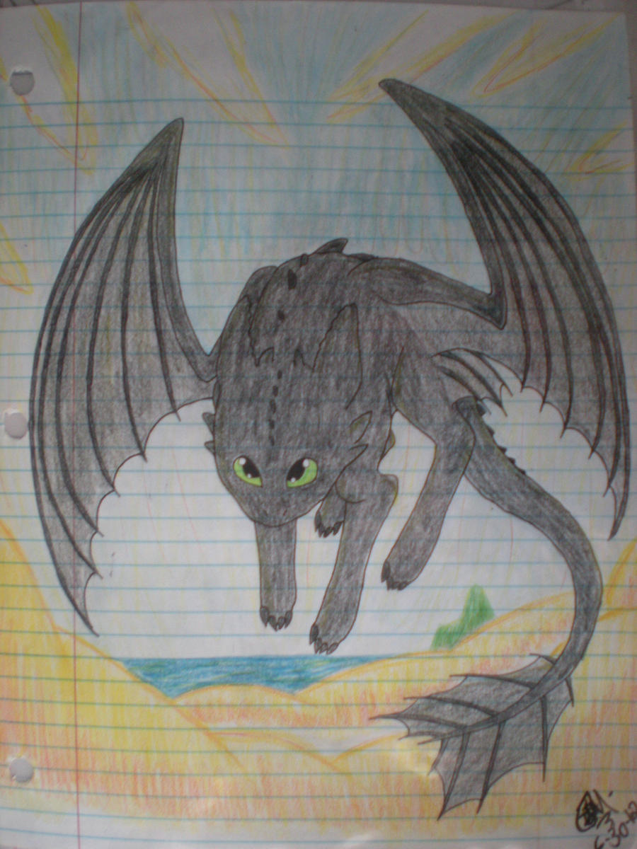 Toothless by PheonixAurora