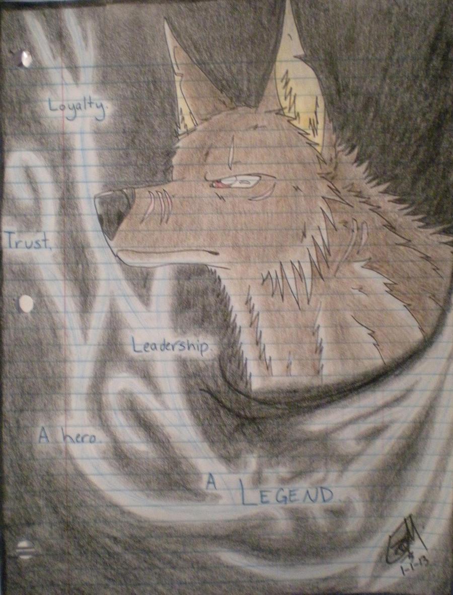 The Legendary Hero by PheonixAurora
