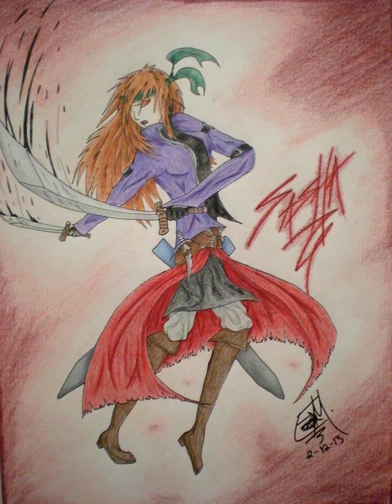 Sasha the Assassin-Contest Entry by PheonixAurora