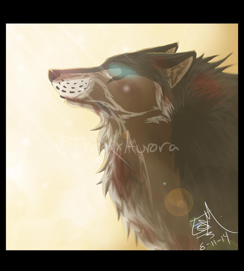 The Blind REDRAW + Speedpaint by PheonixAurora