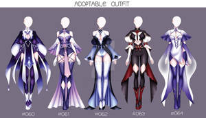 ACTION OUTFIT DESIGN #060-#064 [OPEN]