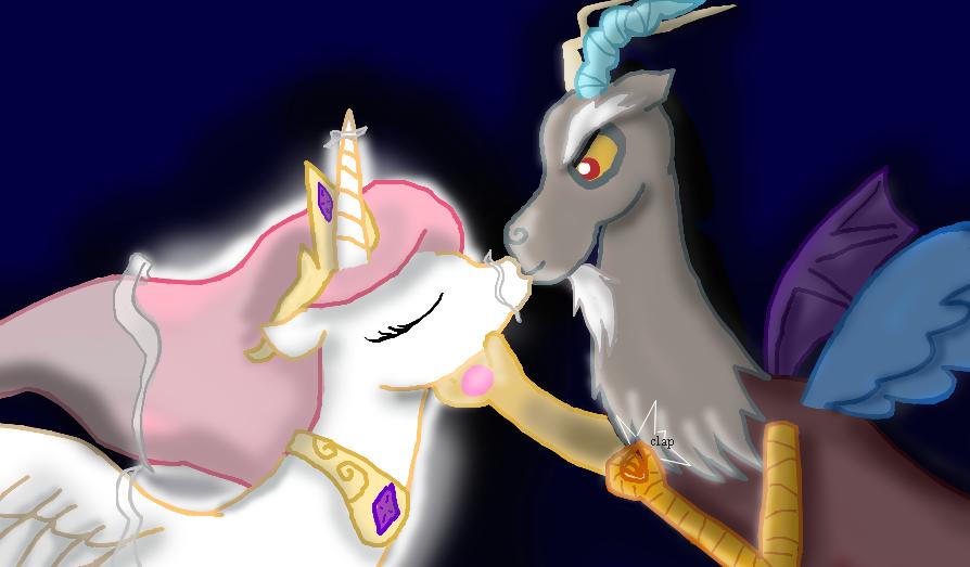Discording Kiss by AerisHikari