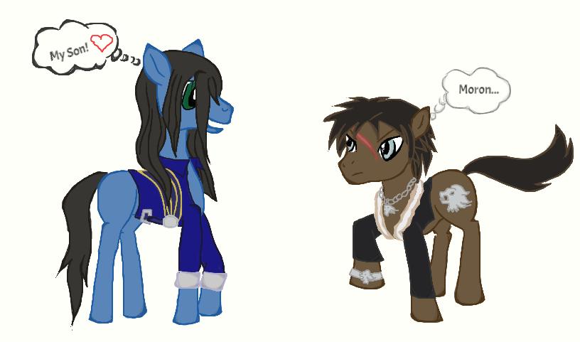 Pony Fantasy VIII: Son and Moron by AerisHikari