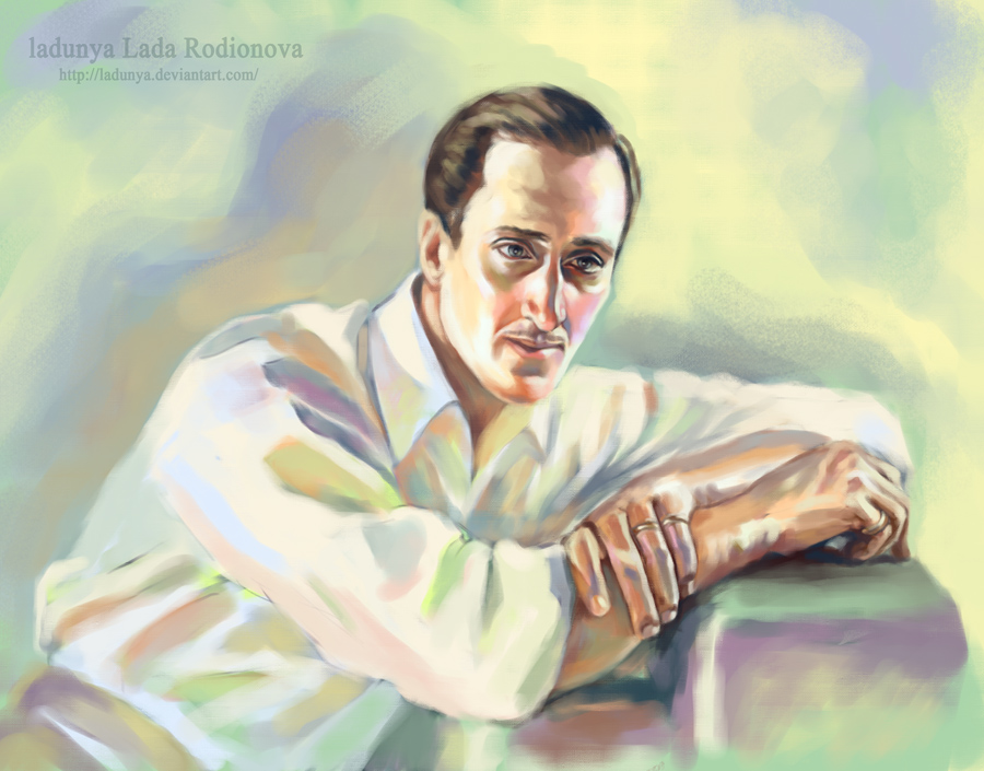 Basil Rathbone by ladunya