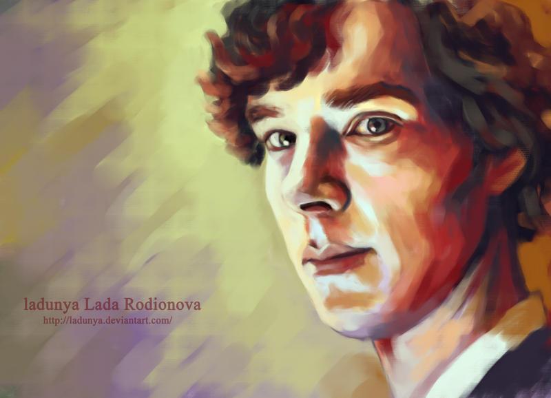 Sherlock18-speed paint by ladunya
