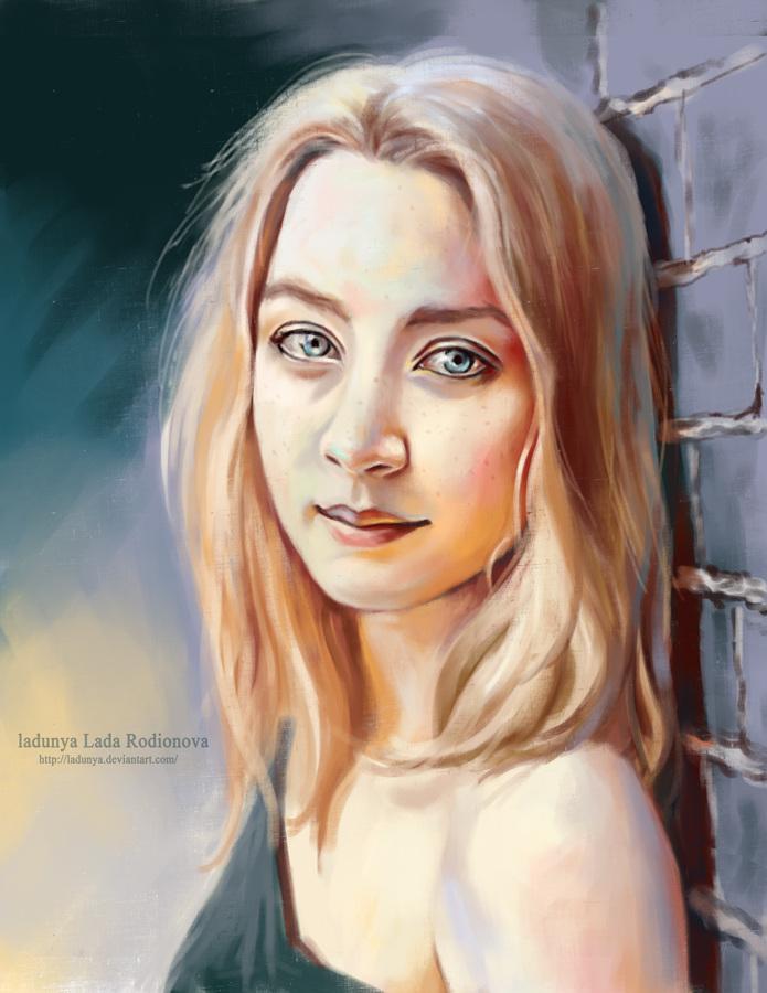Saoirse Ronan by ladunya