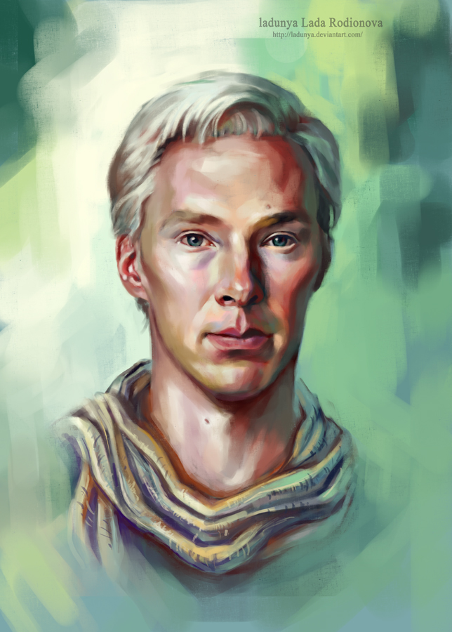 Julian Assange (Benedict Cumberbatch) by ladunya