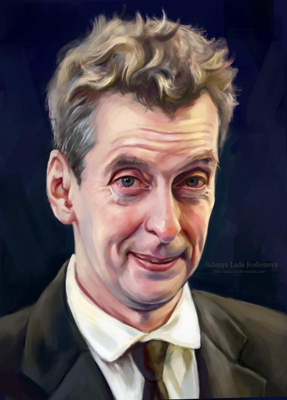 Peter Capaldi by ladunya