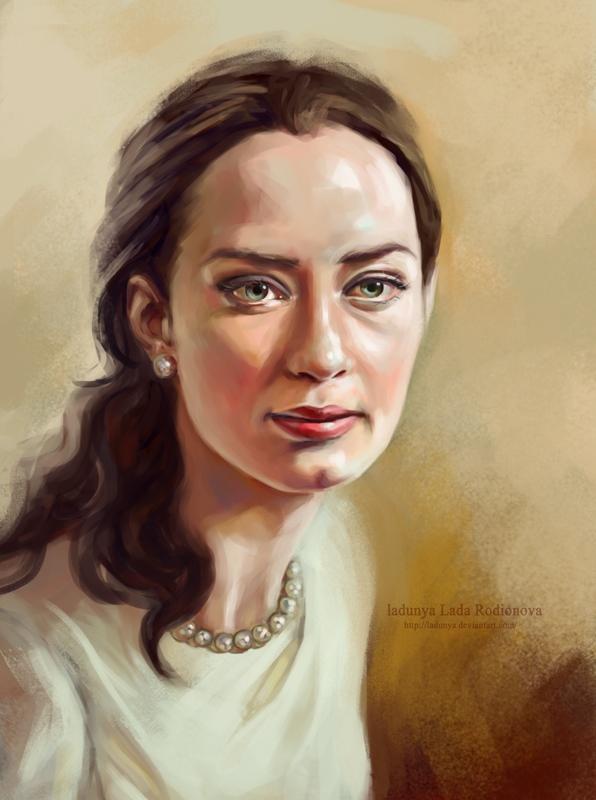 Emily Blunt by ladunya