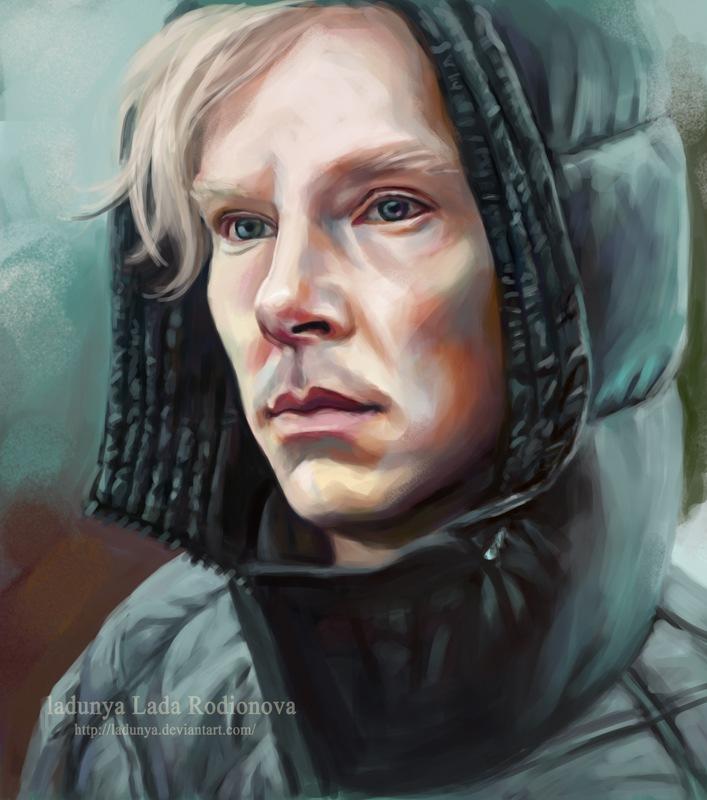 Assange 4 by ladunya