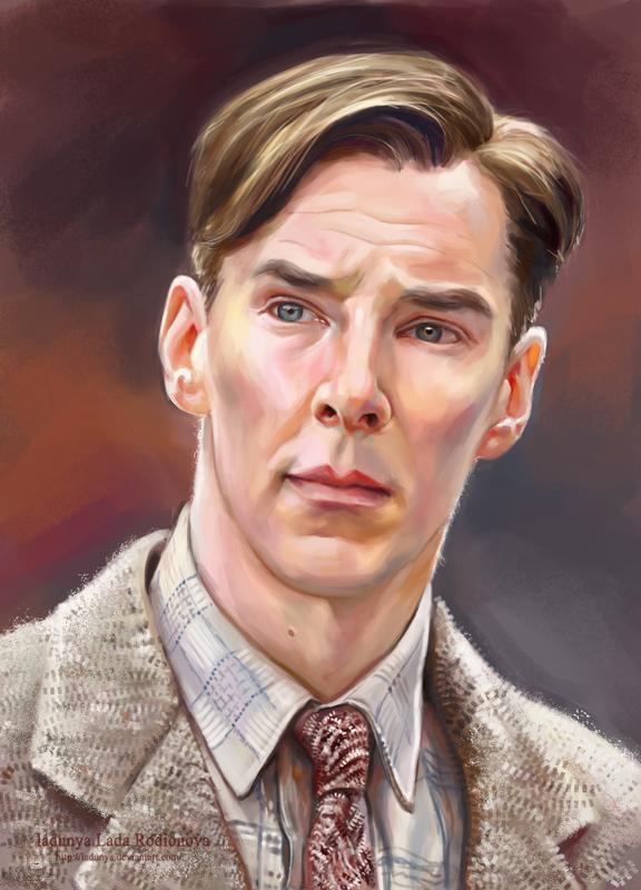 Alan Mathison Turing by ladunya