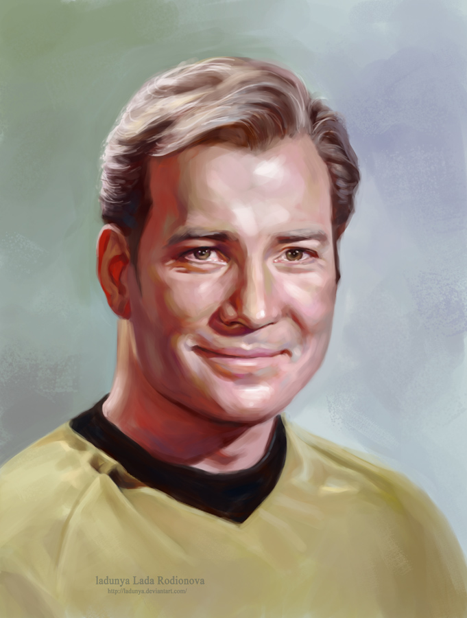 captain Kirk by ladunya